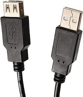 Maclean MCTV - Cable USB 2.0 A Macho - A Hembra 3 ó 5 Metros (5m)