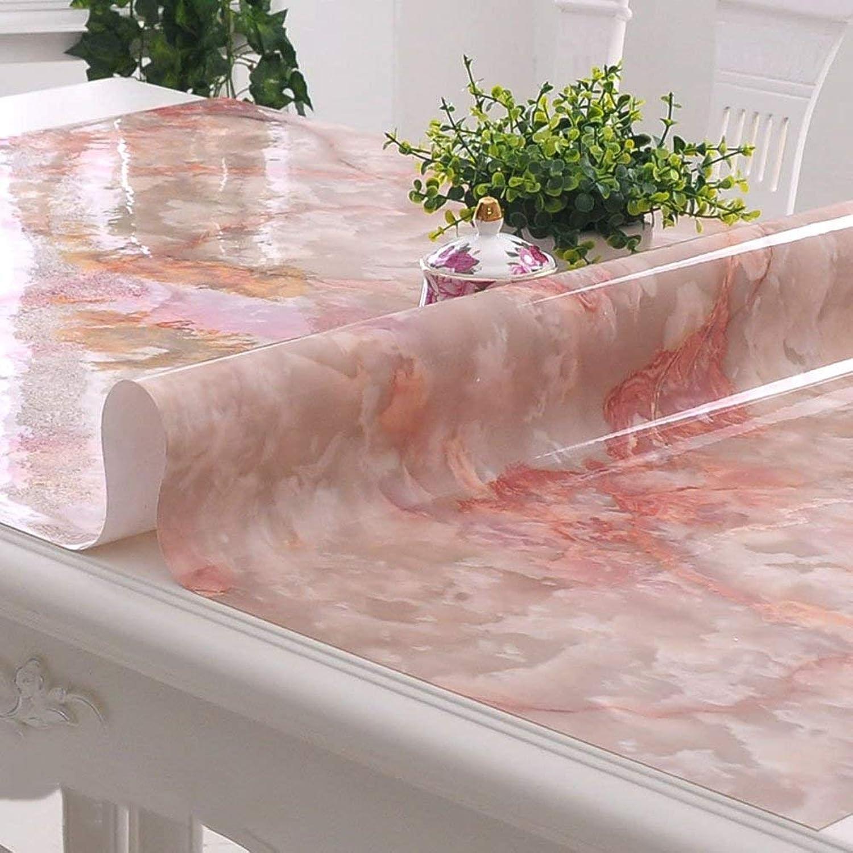 precio mas barato WENYAO WENYAO WENYAO Soft Glass Tablecloth Rectangular Waterproof Anti-Hot Oil-Proof Plastic Tabmat Tea tabpad,A_90160cm  Obtén lo ultimo