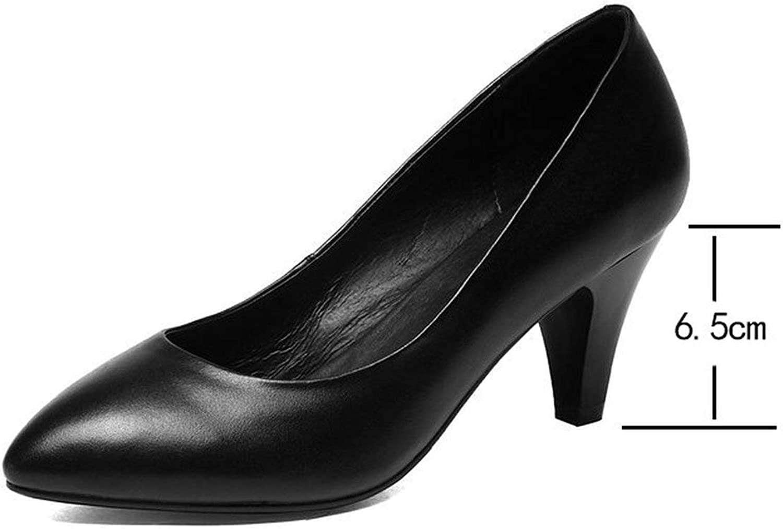 2019 Women shoes Platform Pointed Toe All Match Slip on Women Pumps Pumps Size 34-42