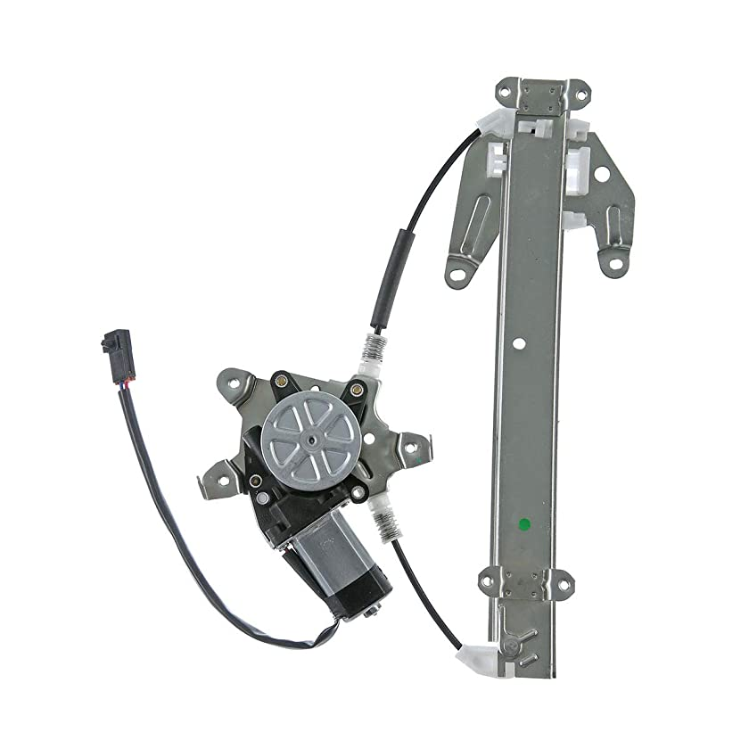 A-Premium Power Window Regulator with Motor For Infiniti I30 1996-1999 Nissan Maxima 1995-1999 Rear Left Driver Side