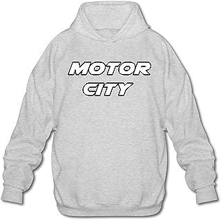 Adult Motor City Rocks Hoodie Comfy Pullover Sweatshirt