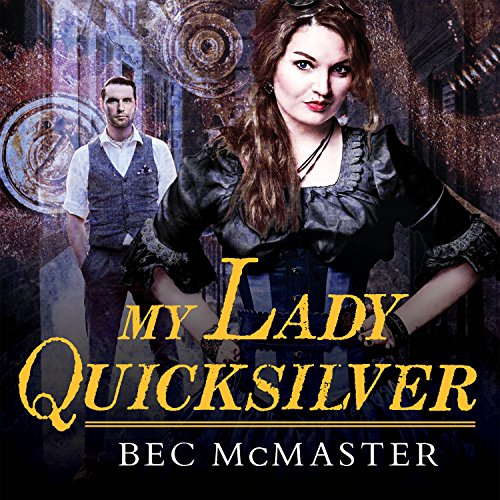 My Lady Quicksilver audiobook cover art