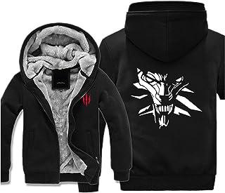 XRDDP Chaqueta con Capucha para Hombre - The Witcher 3 Wild Hunt The Witcher Geralt Demon Hunter Más Suéter con Capucha De...