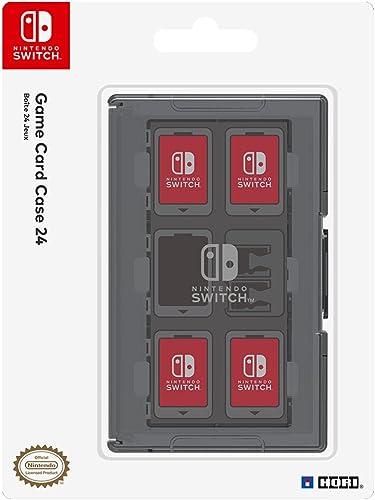 Boitier de protection pour 24 Jeux Nintendo Switch - noir
