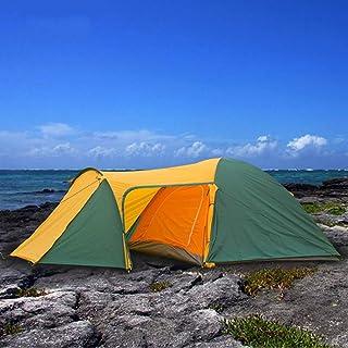 DorisAA camping tält enkel inställning 4 personer stora camping familjetält vattentätt dubbla lager UV-beständigt solskydd...