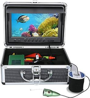 GRXXX Buscador de Peces bajo el Agua HD Cámara bajo el Agua 9 Pulgadas TFT Color Pantalla CCD y Función DVR de HD View 100...
