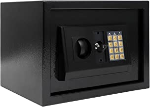 Small Size Safe Box Lock Box 5.4 x 3.8 x 3.8 Inches Safe Case With Keypad Electronic Password Steel Plate Safety Boxes Jew...