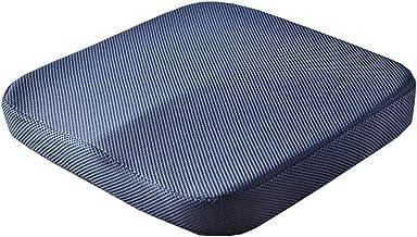 WHOJA Memory Foam Stoel Kussen Stuitbeen Kussen ergonomisch zitkussen voor ischias, stuitbeen bureaustoel of rolstoel home...