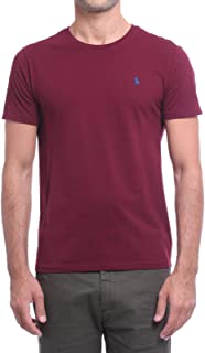 1630153e Polo Ralph Lauren T-Shirt in Cotone Custom Slim-Fit Uomo Mod. 710671438