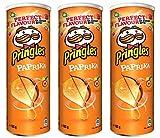 Pringles Paprika Crisps 165 gr. - [Pack 3]