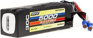 Onyx 22.2V 5000mAh 6S 30C LiPo Battery, EC5, ONXP50006S30