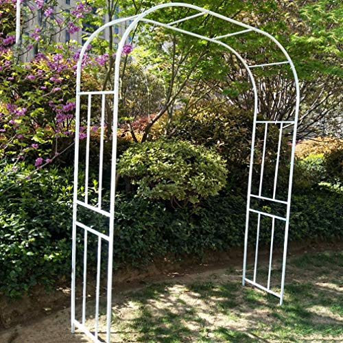 Metal Garden Arch Pergola, Flower Frame Stand for Gardens Hotels Terraces Climbing Plant Outdoor Decoration Arbors