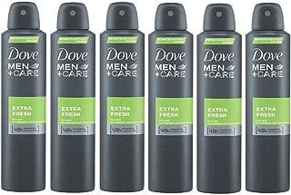 Dove Men Extra Fresh 48h Spray, International Version, 150 ml (6-Pack)