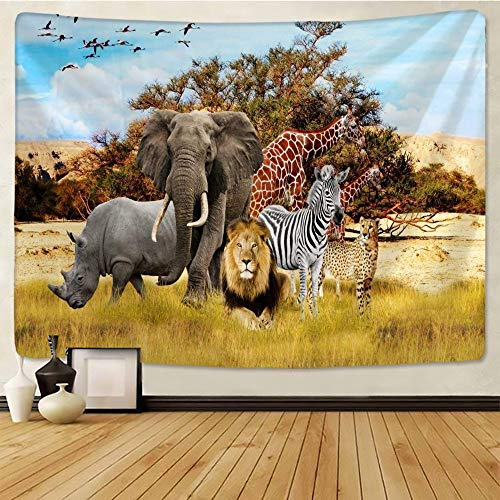 WERT Bohemian mandala elephant tapestry wall hanging beach picnic blanket home decoration background cloth tapestry A10 150x200cm