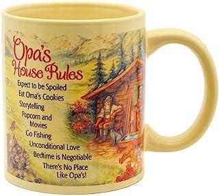 Opa House Rules Ceramic Coffee Mug