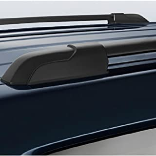 VioletLisa DINORACK 2pcs Black Aircraft Aluminum Aftermarket Roof Rack Cross Bars Mounting Hardwares for 08-13 Highlander Brackets