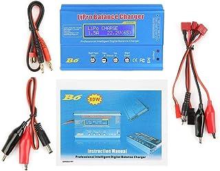 B6 80 W digital LCD balans batteriladdare urladdare för LLiPo NiMH RC-batteri (utan kontakt)