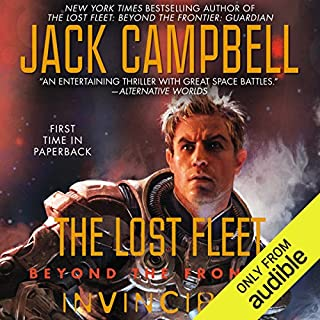 Invincible: The Lost Fleet: Beyond the Frontier, Book 2                   By:                                                                                                                                 Jack Campbell                               Narrated by:                                                                                                                                 Christian Rummel                      Length: 11 hrs and 47 mins     5,016 ratings     Overall 4.5