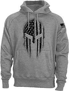 USA American Spartan Molon Labe Patriotic Men's Sweatshirt Hoodie