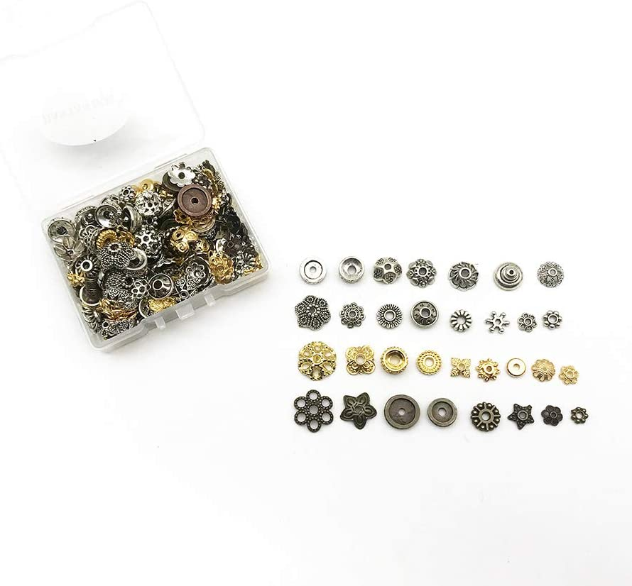 300pcs Tibetan Silver Lantern Shaped Spacer Beads 5x4mm ZN71