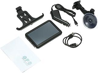 Decdeal 5.0 بوصة سيارة محمولة بنظام تحديد المواقع العالمي للملاحة 128M 8GB مع دعم خلفي + خريطة مجانية HD شاشة لمس FM مشغل ...