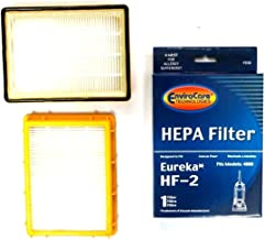 EnviroCare Replacement Vacuum HEPA Filters for Eureka HF-2 Ultra Smart, Boss, Omega, UltraSmart Vac Cyclonic, Whirlwind Uprights 3 Filters