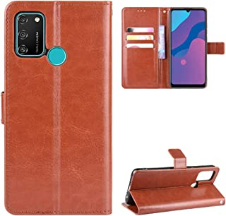 HD ケース Case for huawei Honor Play 9A MOA-AL00 Flip Case Cover Leather ケース + TPUシリコン固定カバー用ケース 1