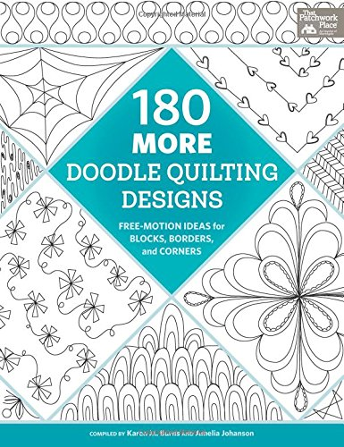 180 More Doodle Quilting Designs: Free-Motion Ideas for Blocks, Borders, and Corners