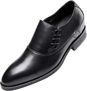 [ONE MAX] ビジネスシューズ メンズ 本革 ローファー スリッポン 革靴 高級靴 ロングノーズ フォーマル スタイリッシュ 幅広 通気 防滑 スーツ用