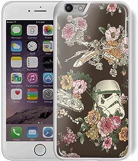 CASE LOCK LTD - Hard Rubber Phone case for Google Pixel 2 XL (6 inch) - SW Darth Vader Storm Trooper Han Solo Yoda R2D2 Jedi Millenium Falcon Botanic Force Awaekens. Ships from Florida -Style 6