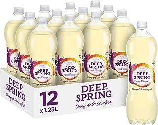 Deep Spring Sparkling Mineral Water Orange Passionfruit, 12 x 1.25 l