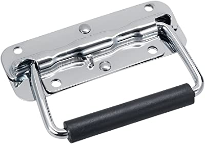 1//2p Chest Handle Puller Boxes Toolbox Drawer Box Pull 201Stainless Steel Silver