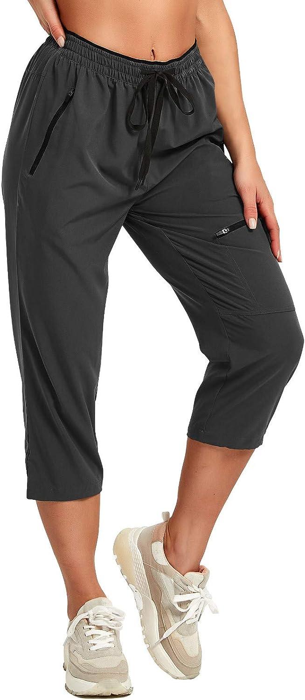 SPECIALMAGIC Women's Hiking Capris Pants Quick Dry Bargain Summer Max 68% OFF Casual