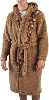 Star Wars Mens Chewbacca Costume Robe with Chewy Sound Chip