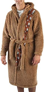 Star Wars Mens' Chewbacca Costume Robe with Chewy Sound Chip
