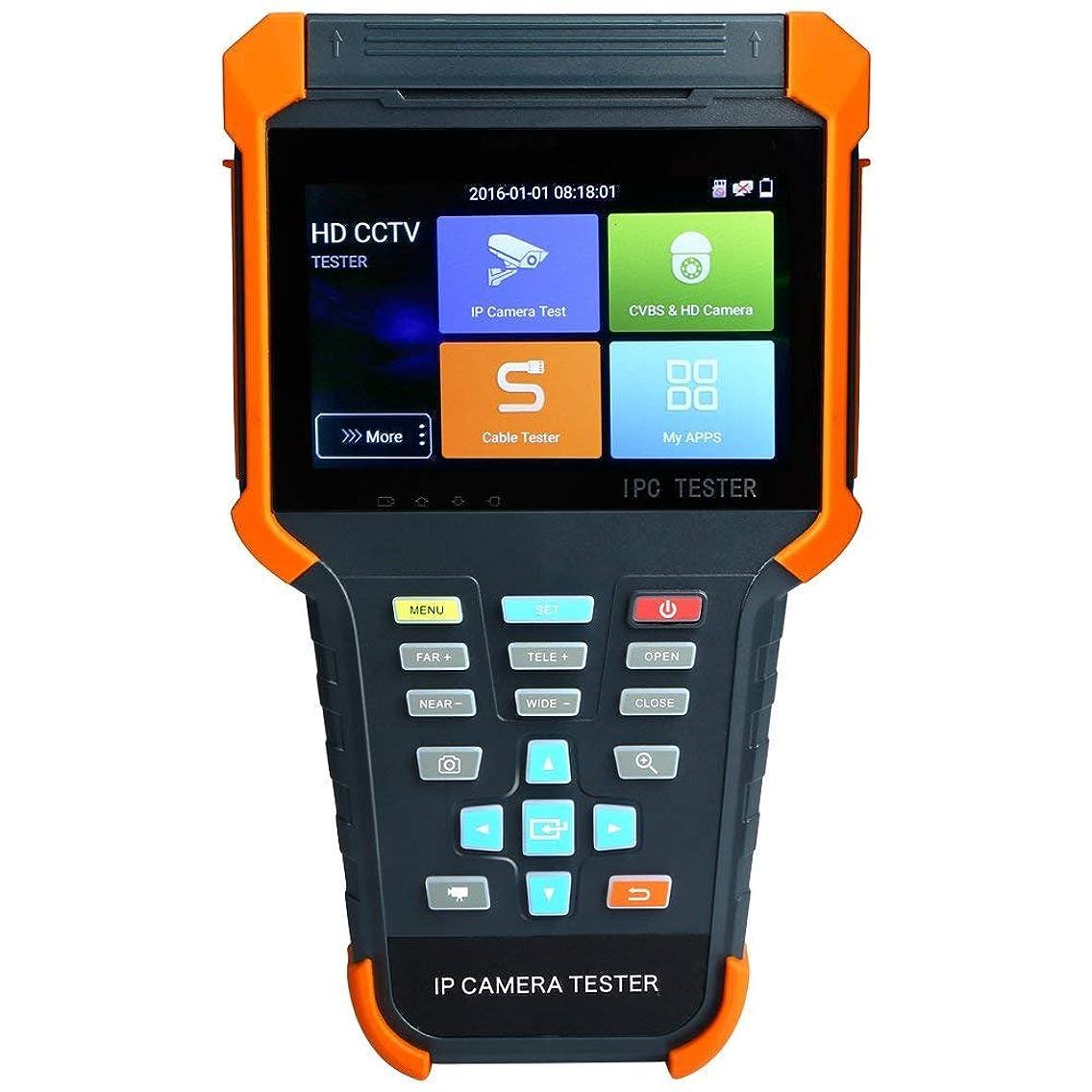 Precamview 4 Inch 6 in 1 H.265 4K IP HD CCTV Tester Monitor AHD CVI TVI SDI CVBS Camera Tester 8MP 5MP ONVIF WiFi RJ45 TDR PTZ POE 12V Output X4ADHS