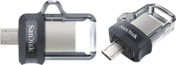 SanDisk Ultra Dual 32GB OTG Pen Drive Pack of 2 (Black, Gold)