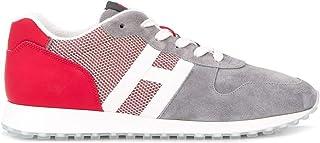 Luxury Fashion   Hogan Men HXM4290AN51N1H50CM Grey Leather Sneakers   Spring-summer 20