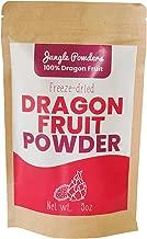 Jungle Powders Pink Pitaya Powder | 5oz 100% Natural Dragon Fruit Powder | Superfood Dragonfruit Powder Organic Freeze Dried Powdered Pitahaya Fruit
