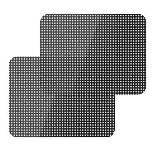 yyuezhi autozonnecrème sticker baby UV zijruit zonwering 42 cm * 38 cm achterruit zonwering zwart 4 hoogwaardige zonneklep blokkeert 97% van de schadelijke UV-straling