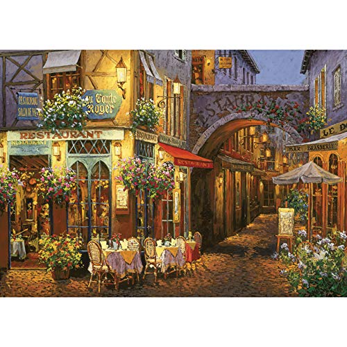 Educational Toys 1000 Pieces of Provence Night Adult Puzzle – Every Piece is Unique, Softclick Technology Means Pieces Fit Together Perfectly