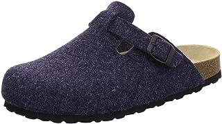 AFS-Schuhe Zuecos para hombre, zapatillas cerradas de fieltro, cómodas y cálidas, fabricadas en Alemania, 36900