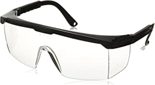 Neiko 53842A Safety Glasses, Clear Polycarbonate Frame | Fully Adjustable Protective Eyewear
