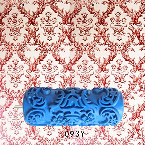 Wanddruck Roller Farbe Relief Wandmalerei Pinsel Roller Home Decoration - #6