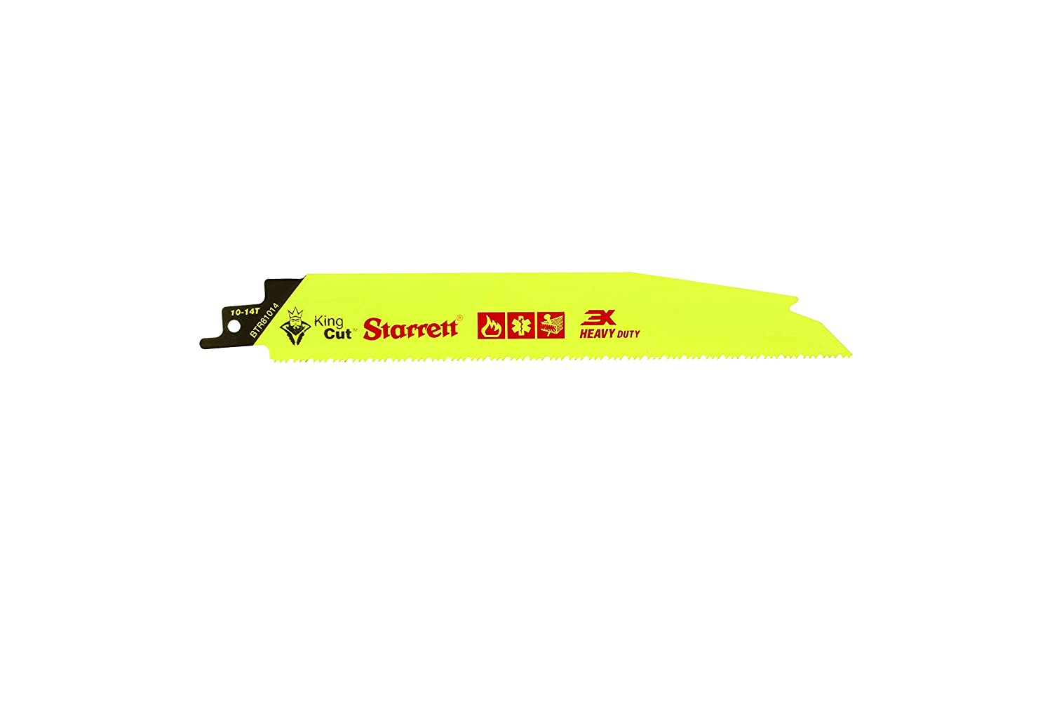 Starrett Weekly update BTR81014-5 Bi-Metal Albuquerque Mall Tapered King and Rescue D Fire Cut