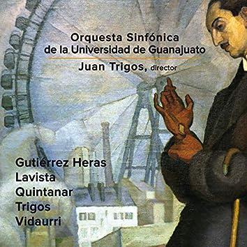 Joaquín Gutiérrez Heras, Mario Lavista, Hector Quintanar, Juan Trigos & Carlos Vidaurri