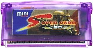 Tivollyff ゲームボーイGBA SP GBM IDS NDS NDSL高速安定ロードするための任天堂のためのミニSDカードスーパーフラッシュカートリッジアダプター 紫の