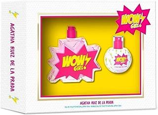 Agatha Ruiz de la Prada Perfume Wow Girl Colonia 50 Vapo + Bubble Colonia 30Vp Pack de 1