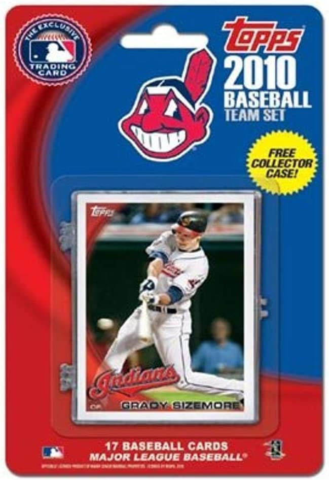 Gifts MLB Cleveland Safety and trust Indians 2010 Sets Team