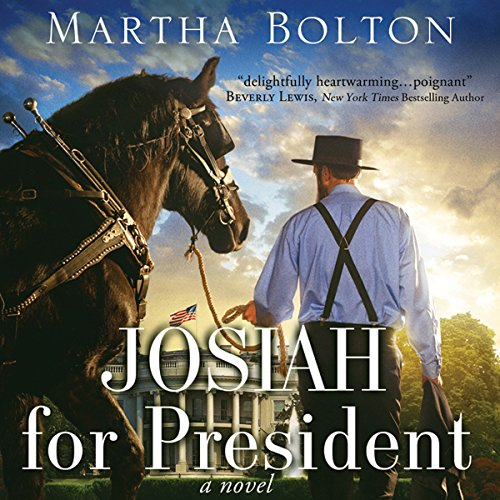 Josiah for President audiobook cover art